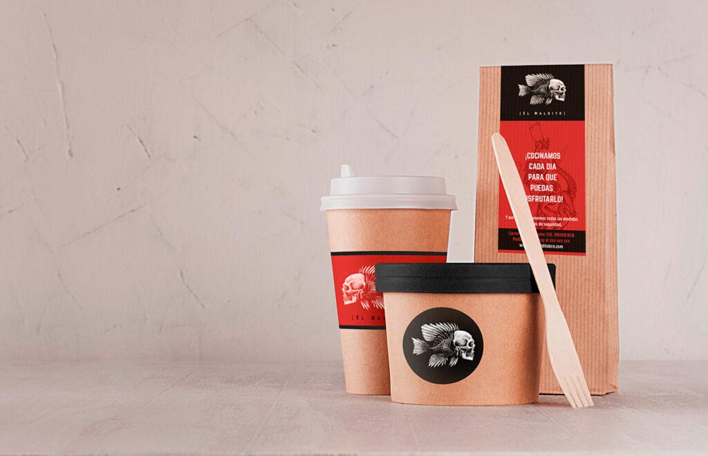 Packaging especializado en take away para restaurantes